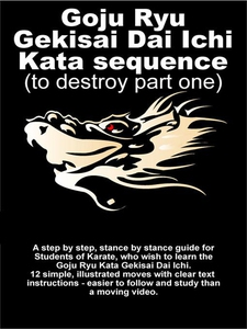 Goju Ryu Gekisai Dai Ichi Kata Sequence (e-bok)