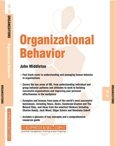 personnel management and organizational behavior People, their relationship to each other and the organisations in which they work are researched by rsm's department of organisation and personnel management.