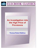 An Investigation into the High Price of Provisions