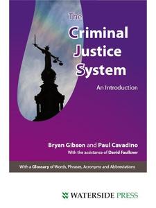 The Criminal Justice System (e-bok) av Bryan Gi