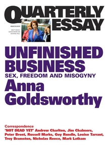 Quarterly Essay 50 Unfinished Business (e-bok)