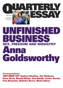 Quarterly Essay 50 Unfinished Business (e-bok)