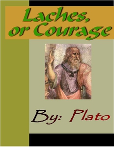 Laches, or Courage - PLATO (e-bok) av Plato