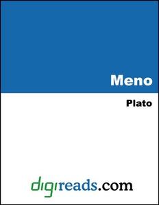 Meno (e-bok) av Plato