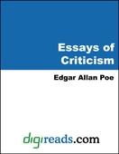 Essays of Criticism