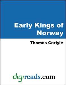 Early Kings of Norway (e-bok) av Thomas Carlyle
