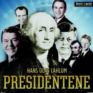 Presidentene (lydbok) av Hans Olav Lahlum
