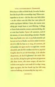 Siamesisk (ebok) av Stig Sæterbakken