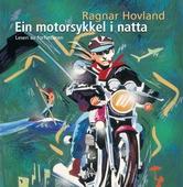 Ein motorsykkel i natta