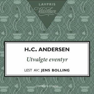 Utvalgte eventyr (lydbok) av H.C. Andersen