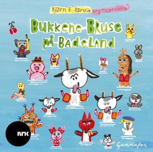 Bukkene Bruse på badeland (lydbok) av Bjørn F