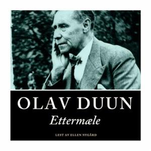 Ettermæle (lydbok) av Olav Duun