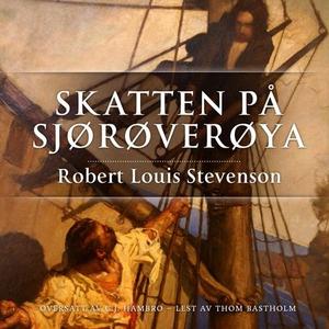 Skatten på Sjørøverøya (lydbok) av Robert Lou