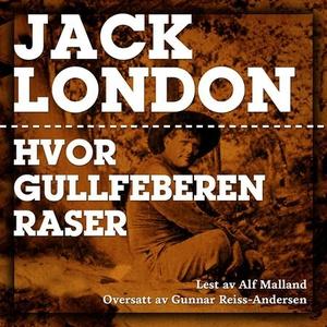 Hvor gullfeberen raser (lydbok) av Jack Londo