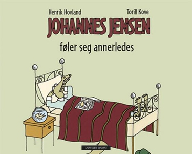 Johannes Jensen føler seg annerledes (interak
