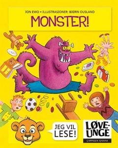 Monster! (interaktiv bok) av Jon Ewo