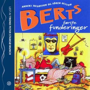 Berts første funderinger (lydbok) av Anders J