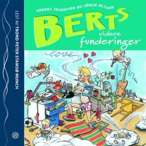Berts videre funderinger (lydbok) av Anders J