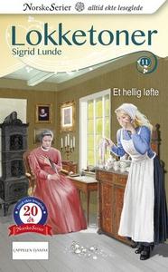 Et hellig løfte (ebok) av Sigrid Lunde