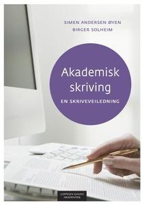 Akademisk skriving (ebok) av Simen Andersen Ø