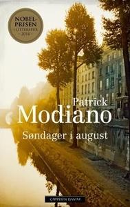 Søndager i august (ebok) av Patrick Modiano