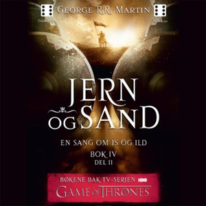 Jern og sand (lydbok) av George R.R. Martin