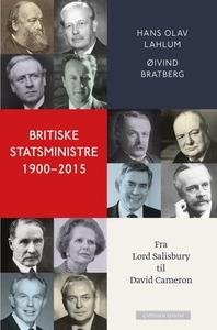 Britiske statsministre 1900-2015 (ebok) av Ha
