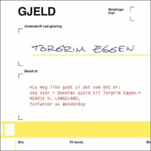 Gjeld (lydbok) av Torgrim Eggen