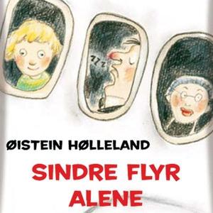 Sindre flyr alene (lydbok) av Øistein Høllela