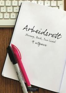 Arbeidsrett (ebok) av Tom Henrik Beck, Arve D
