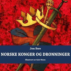 Norske konger og dronninger (lydbok) av Jon E
