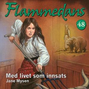 Med livet som innsats (lydbok) av Jane Mysen