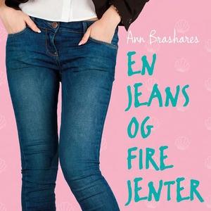 En jeans og fire jenter (lydbok) av Ann Brash