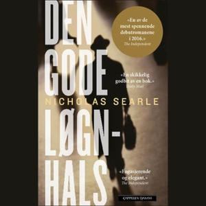 Den gode løgnhals (lydbok) av Nicholas Searle
