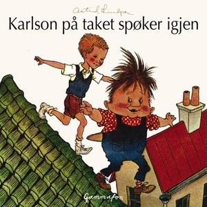 Karlson på taket spøker igjen (lydbok) av Ast
