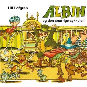 Albin og den snurrige sykkelen (lydbok) av Ul