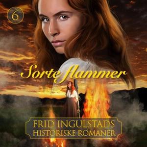 Sorte flammer (lydbok) av Frid Ingulstad