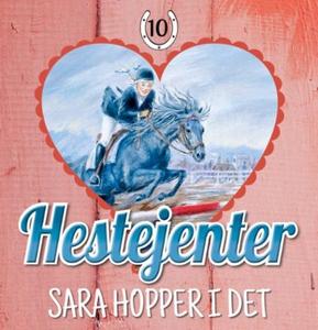 Sara hopper i det (lydbok) av Pia Hagmar