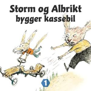 Storm og Albrikt bygger kassebil (lydbok) av