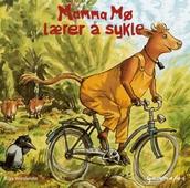 Mamma Mø lærer å sykle