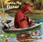 Mamma Mø fisker