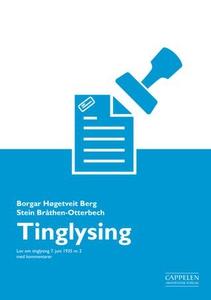 [Tinglysingsloven] (ebok) av Borgar Høgetveit