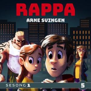 Rappa 5 (lydbok) av Arne Svingen