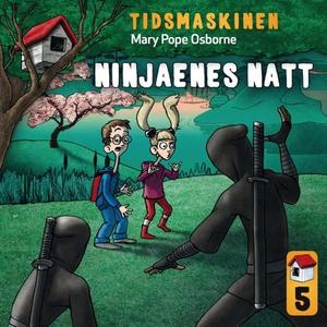 Ninjaenes natt (lydbok) av Mary Pope Osborne