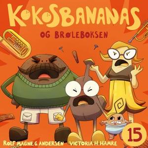 Kokosbananas og brøleboksen (lydbok) av Rolf