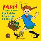 Pippi skriver brev og går på skolen
