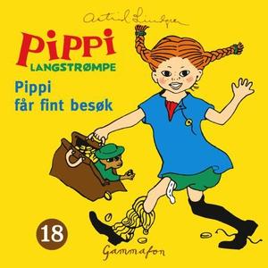 Pippi får fint besøk (lydbok) av Astrid Lindg