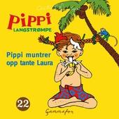 Pippi muntrer opp tante Laura