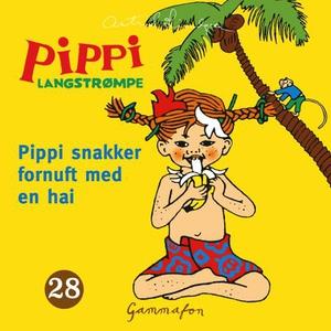 Pippi snakker fornuft med en hai (lydbok) av