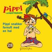 Pippi snakker fornuft med en hai